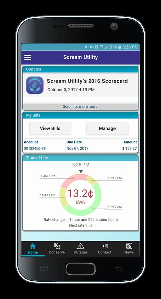 Scream Utility Dashboard